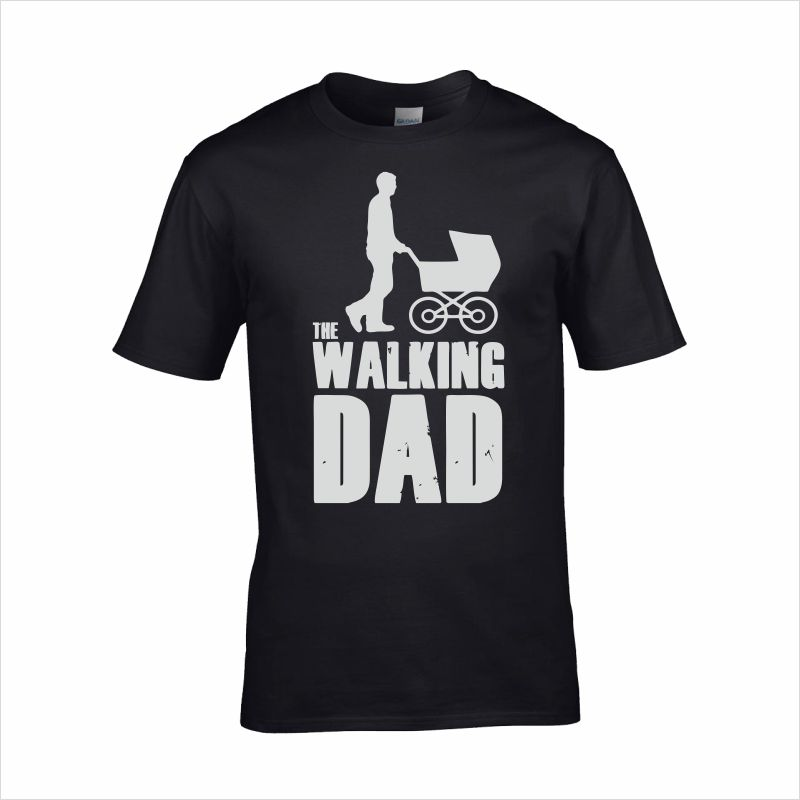 The Walking DAD póló