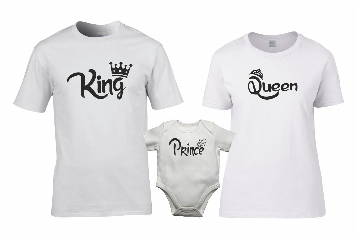 King Queen Prince póló szett bd281ec4a0