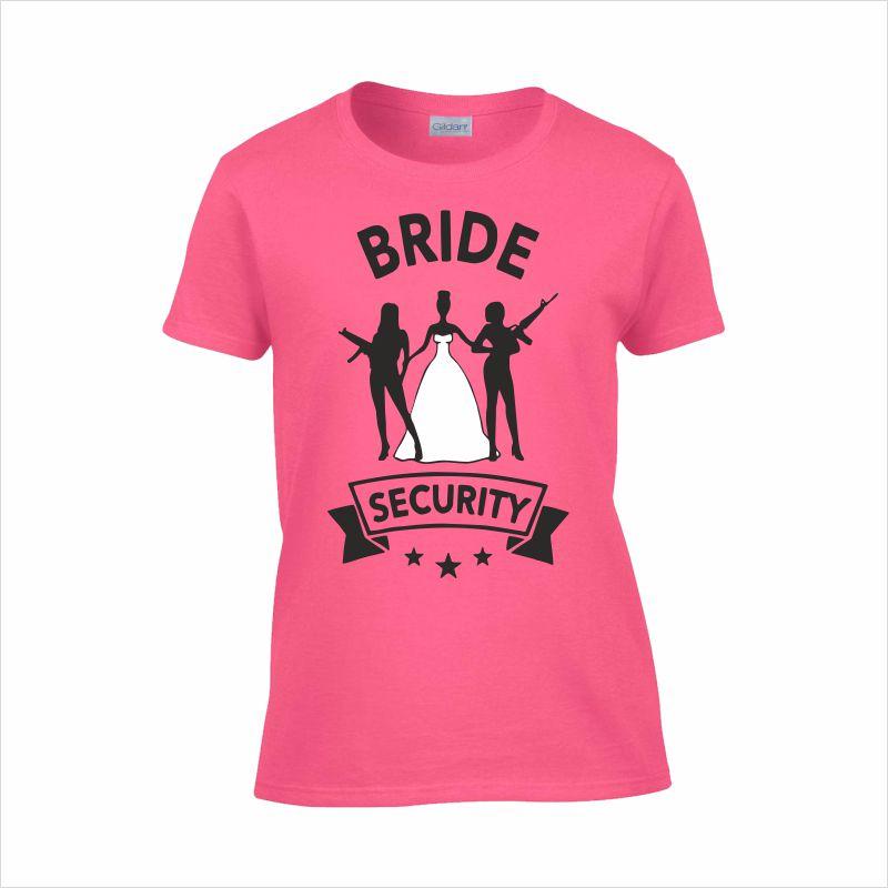 5699bb6943 Lánybúcsú | Bride Security lánybúcsús póló | Ajándék Műhely - Az ...