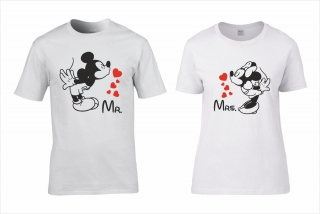 Mickey és Minnie LOVE póló